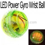 4 LED Flashlight Power Massage Gyro Wrist Exercise Ball