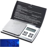 1000g x 0.1g Flip Open Digital 6 Weighing Units Balance Scale