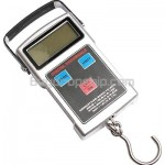 50KG - 20G LCD Electronic Digital Luggage Scale with Fishhook Hook