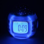 Starry Projection & Canoro Rhythm Play LED Alarm Clock