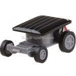 Mini Solar Powered Robot Racing Car Toy Gadget