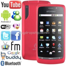 3.6 inch Android 2.2 Unlocked 2-Sim Cell Mobile Phone TV WiFi