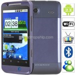 3.4 inch Android 2.3 Unlocked 2-Sim Cell Mobile Phone WiFi TV