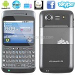 2.4inch Android 2.2 QWERTY 2-Sim Cell Mobile Phone Smart Phone WiFi TV