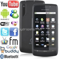 3.6inch Android 2.2 Unlocked 2-Sim TV Cell Mobile Phone Smartphone
