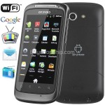 3.4inch 2-Sim Android 2.3.4 Capacitive Touch Mobile Cell Phone TV WiFi