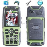 Water Dust Shock-Proof Pressure Protection Cell Mobile Phone Alarm