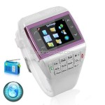 1.3 inch Unlocked Watch Cell Mobile Phone Bluetooth FM Compass MP3