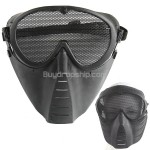 Full Face Guard Mask with Mesh Goggles for Outdoor Paintball Games